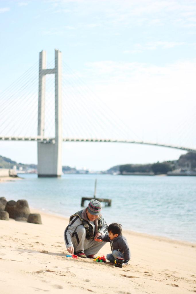 「島のじいじとすごす初めての正月」|坂田 真一さん(愛知県刈谷市)